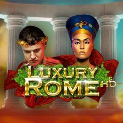 Logo Slot Machine Luxury Rome