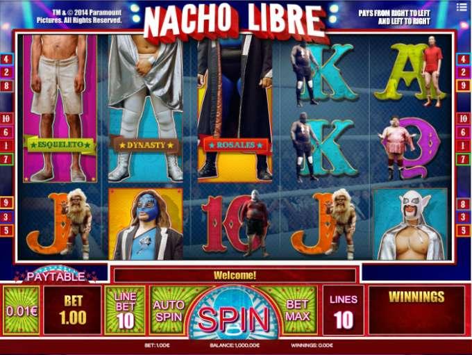 Slot Machine Nacho Libre