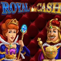 Logo Slot Machine Royal Cash