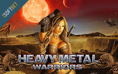 logo heavy metal warriors slot machine isoftbet
