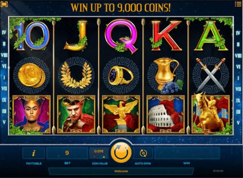 Slot Machine Luxury Rome