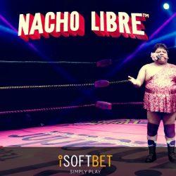 Logo Slot Machine Nacho Libre